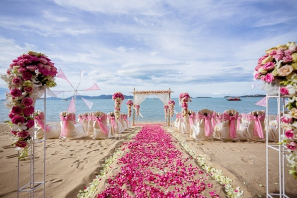 thai destination wedding sector grows