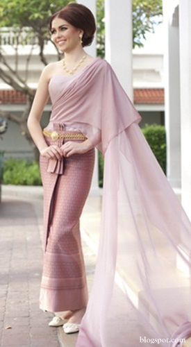 Embrace thai style on your wedding day for Thai style wedding dress