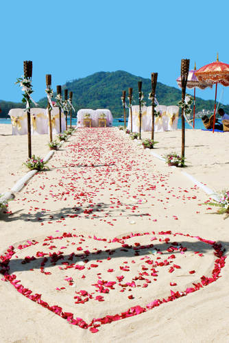 Bali Targets Destination Weddings