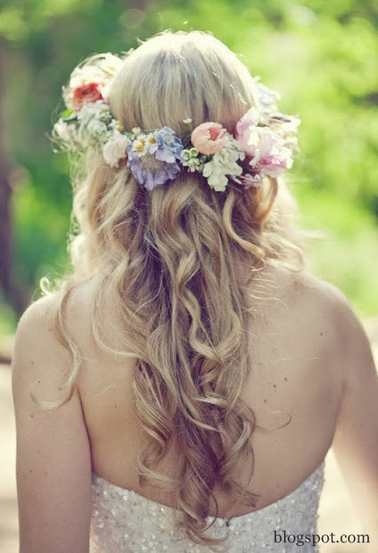 Flower Crown hair style