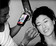 You can choose hair & make-up from our wedding options.
