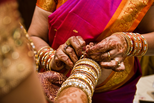 Indian couples getting married in Thailand