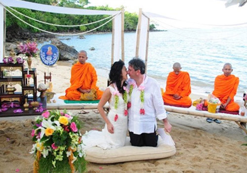 traditional Thai Buddhist wedding ceremony