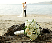 Have a lovely private moment on the beach at your villa weddings just the two of you.